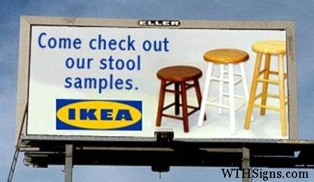 Very clever, Ikea!!