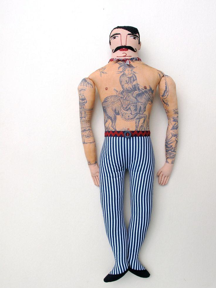 Handsome Tattoo Man. $275.00, via Etsy.