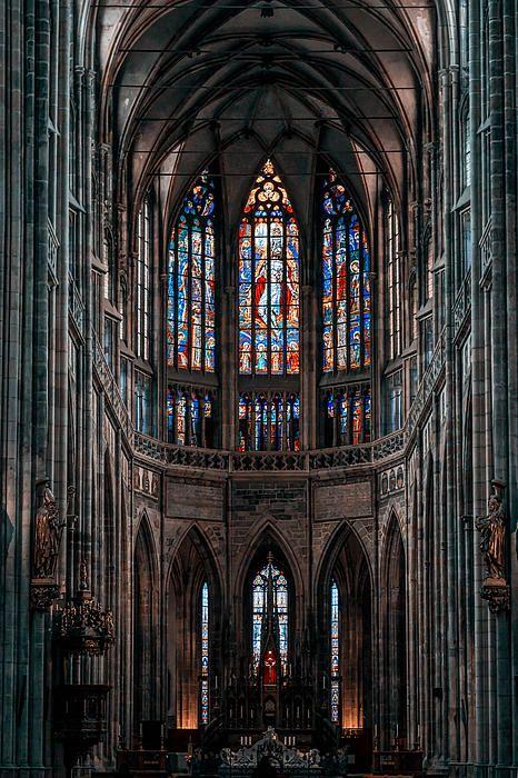 St Vitus Cathedral in Prague
