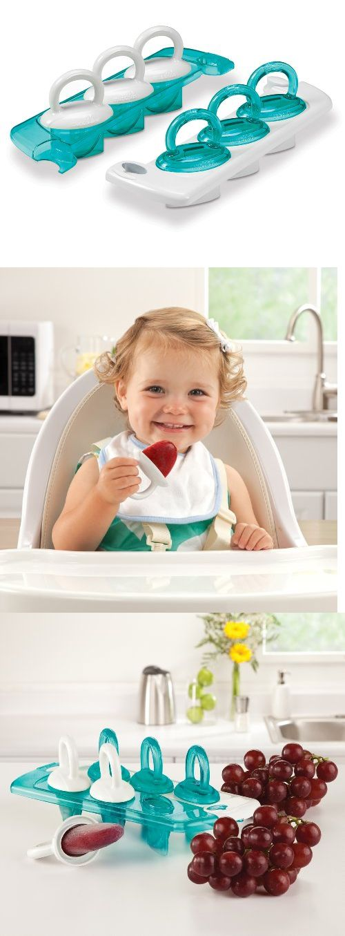 Also could be used for kids eating baby food. Munchkin Click Lock Fresh Food Freezer Pops - A tray of freezer pops that make 6 homemade frozen snacks for baby, because, food for thought, why shouldn't tasty treats also be healthy? Now you can provide your toddler with healthy treats that you... - Food Storage - Baby$7.99