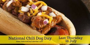 July 28, 2016 – NATIONAL REFRESHMENT DAY – NATIONAL CHILI DOG DAY – NATIONAL MILK CHOCOLATE DAY – BUFFALO SOLDIERS DAY