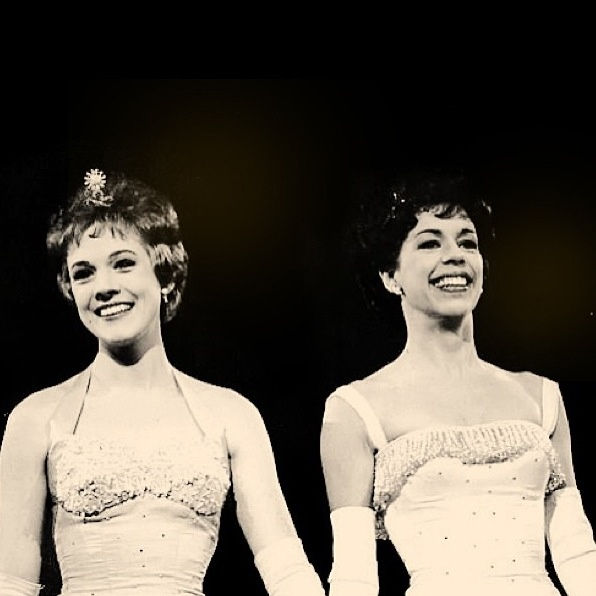 Julie Andrews and Carol Burnett at Carnegie Hall