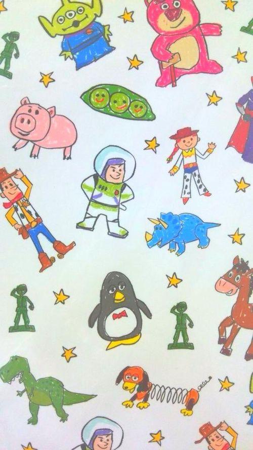 รูปภาพ toy story, disney, and wallpaper