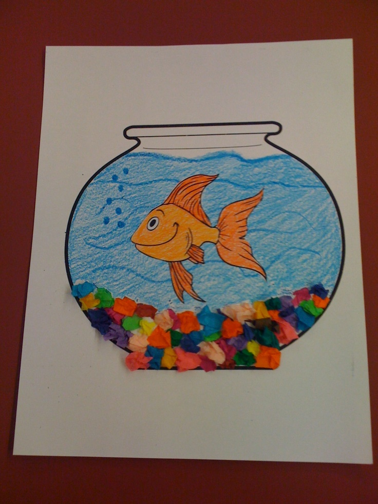 Pets fish bowl craft preschool pinterest pets for Fish crafts for preschoolers