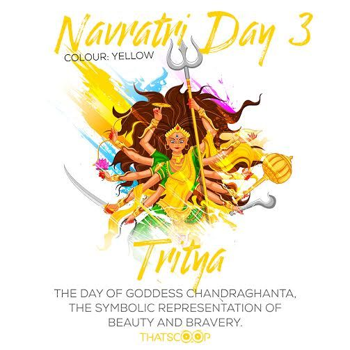 #Navratri #Quotes #Facts #Day3 #Yellow www.thatscoop.com