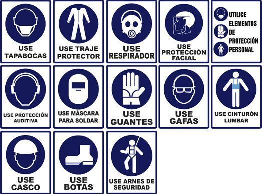 avisos seguridad industrial