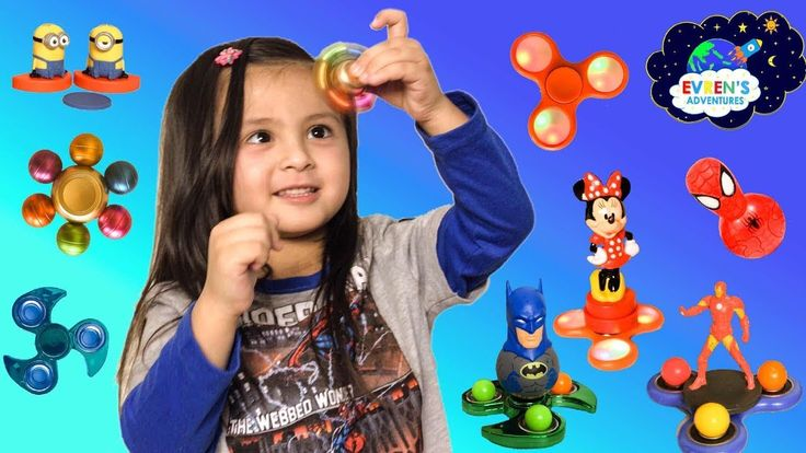 Fidget Spinner Games! Giant Egg Surprise Amazing Tricks Fidget Spinners Disney DC Comic Toys Review. Thanks for joining Evren from Evren Adventures Toys Review channel in this Fidget Spinner Games challenge. We also surprised Evren with McDonald Happy Meal with Surprise Toys Minion Despicable me 3. Watch Evren opening the Huge Egg Surprise filled with lots of Fidget Spinners toys, and Easter bunny basket with her favorite kids toys like Disney Mickey Mouse, DC Comic Superheroes SpiderMan…
