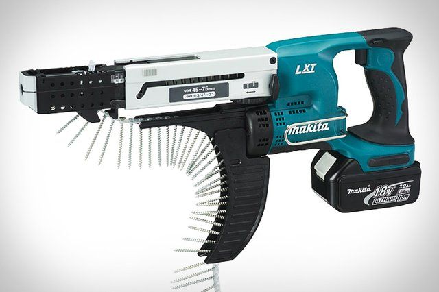 Fancy - Makita LXT Cordless Autofeed Screwdriver Kit