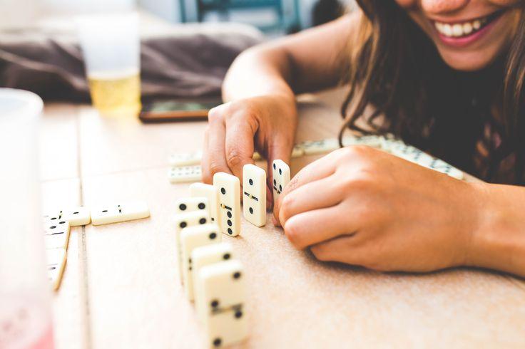 Domino can still be fun, even when you are 23.