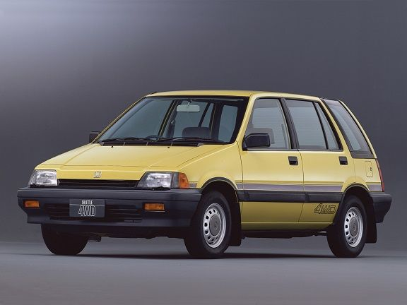 Honda Civic Shuttle (1983 – 1987).