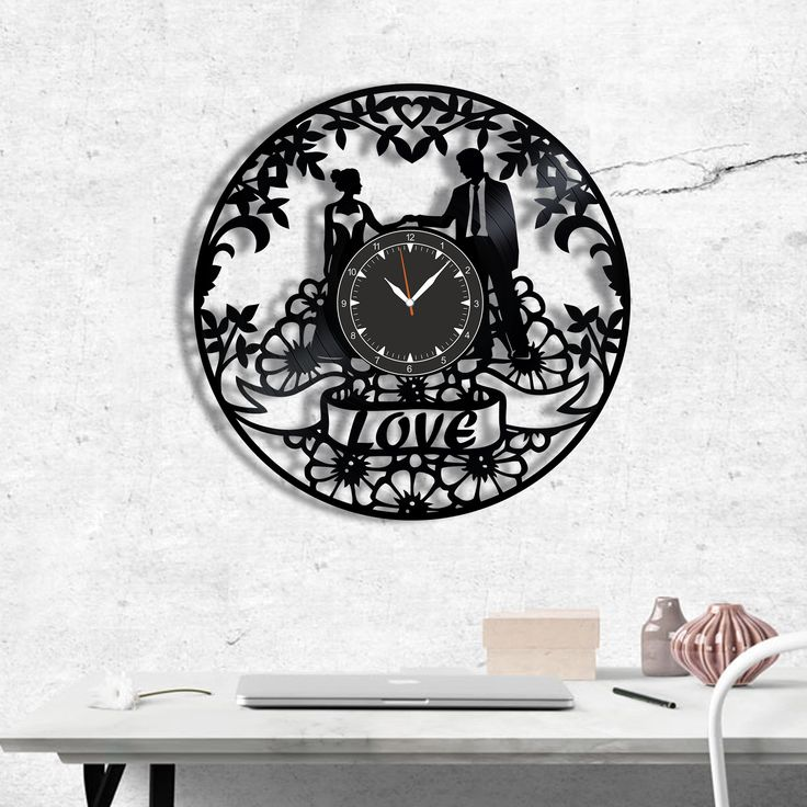 Love Romantic Couple vinyl record clock, wall clock Love, Best Gift for Decor #love #romantic #romantique #homedecor #walldecor #clock #wallclock #vinyl #gifts #giftideas #giftsforher #giftguide #giftwrap