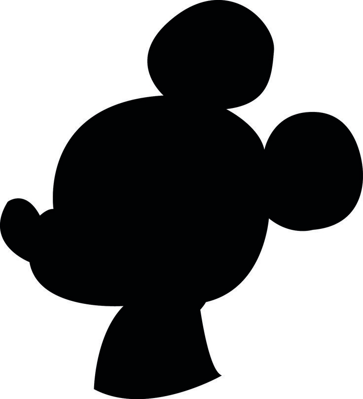 25 best Mickey mouse silhouette ideas on Pinterest  Minnie mouse