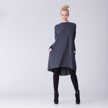 Dress by Polish designer VZOOR >>> http://www.shwrm.pl/ona/odziez/sukienki-tuniki/37374_vzoor-sukienka-tunika-bl34-p.html