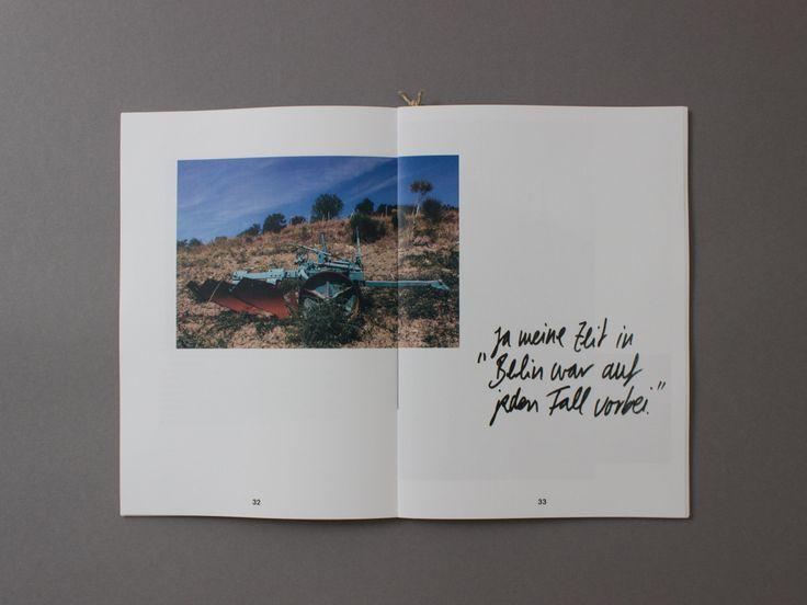 """In meiner Arbeit wird, in Form eines Fotobuches, eine Kommune in Italien vorgestellt, welche in den 70er Jahren gegründet wurde und ihren Ursprung in der westdeutschen Studentenbewegung der 60er Jahre hat. Damals gab es viele Proteste gegen das """"Spießbürgertum"""", gegen die prüde Sexualmoral, für eine antiautoritäre Kindererziehung und für die Emanzipation der Frau. Nach diesen [...]"""