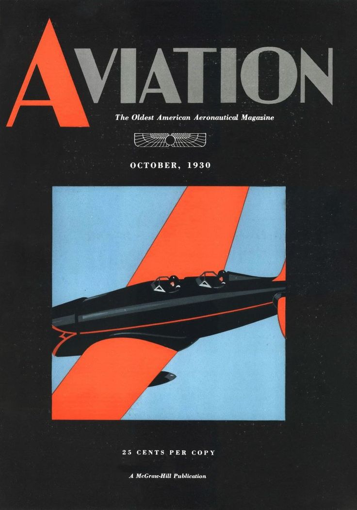 Aviation, October 1, 1930.