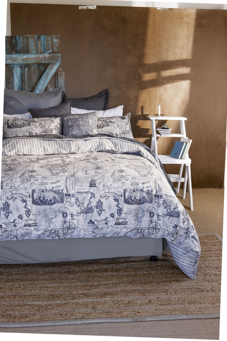 Mr Price Home Summer 2012. #Bedroom #Duvet #Natural