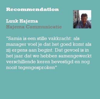 Recommendation Luuk Hajema