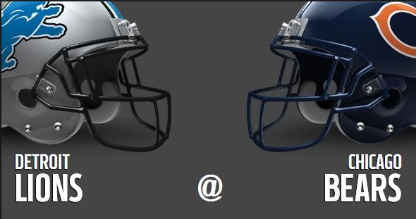 Detroit Lions vs Chicago Bears