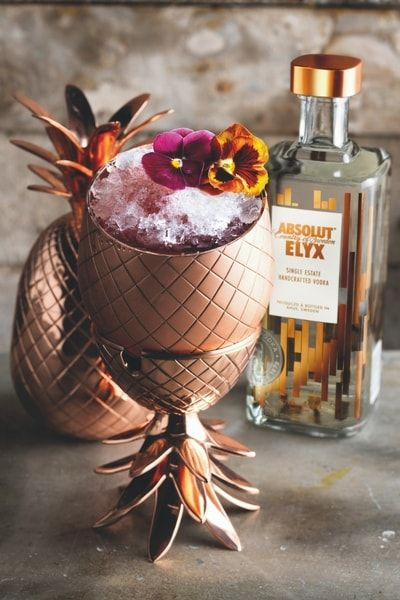 DRIVING MISS DAISY Get the recipe of this Absolut Elyx Cocktail: ingredients, vessel and garnishes to elevate your hospitality and serve the best vodka drinks.