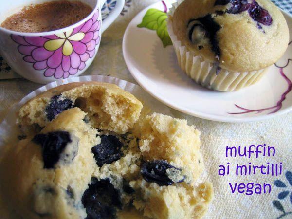 muffin ai mirtilli veg
