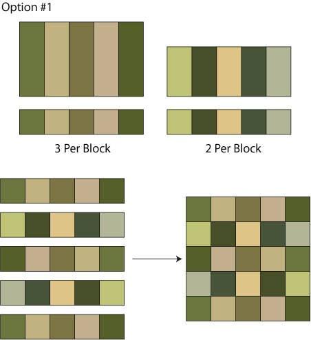 Twenty-Five Patch Quilt Block Pattern - Free Quilt Block Patterns
