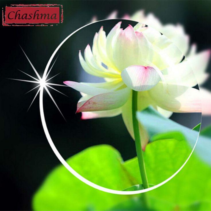 Chashma Lenses 1.61 Index Ultra Tough Clear Lens Eyes Optical Glasses Custom Make Prescription Lenses