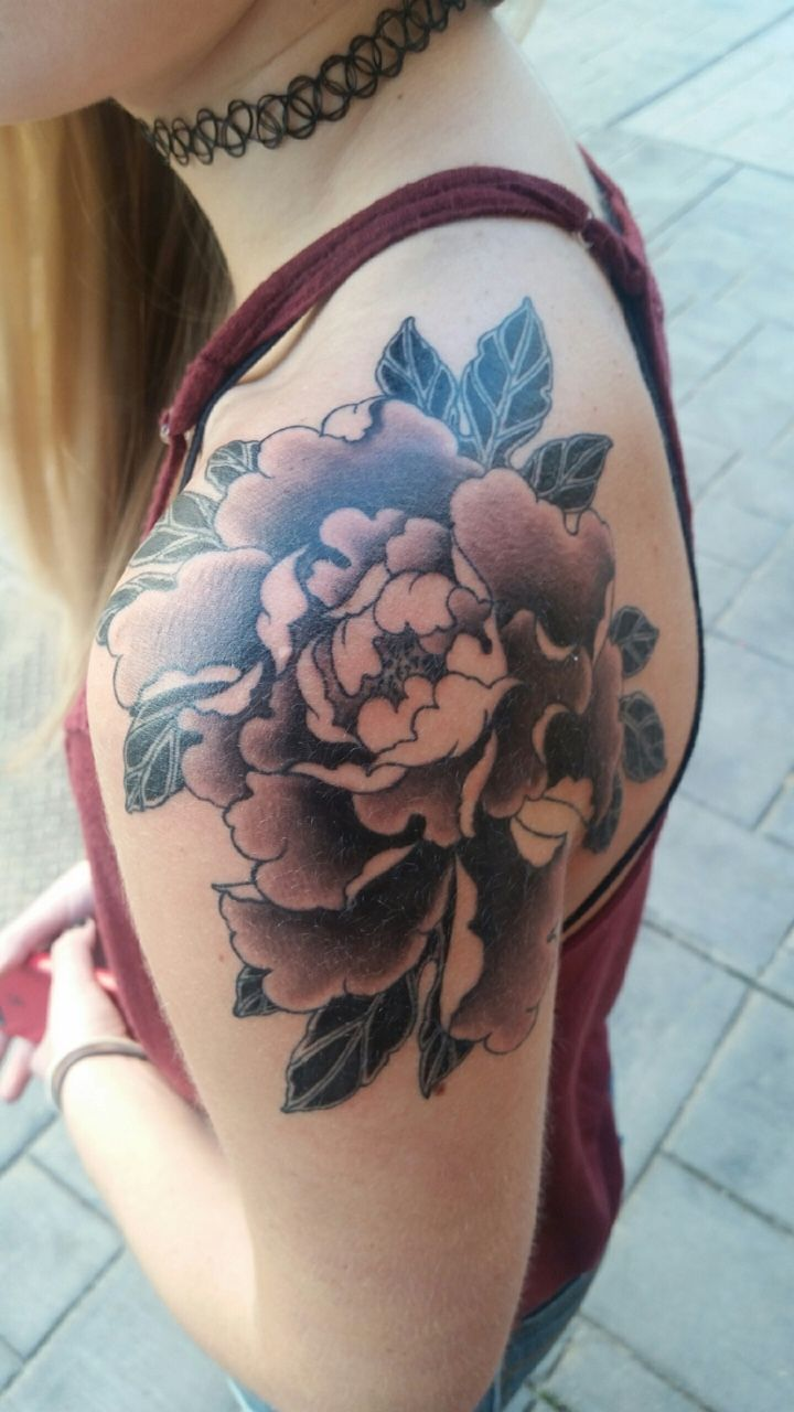 TATTOOS.ORG - Peony flower tattoo Submit Your Tattoo Here:...