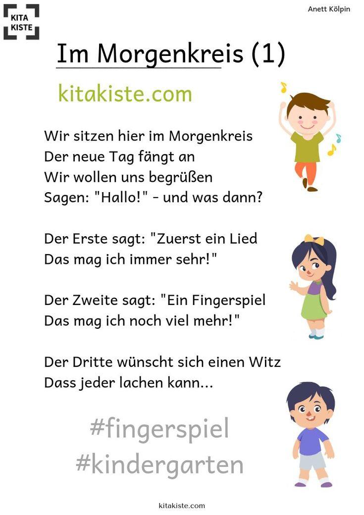 KITAKISTE - Kinderlieder für Kita & Krippe | Fingerspiele