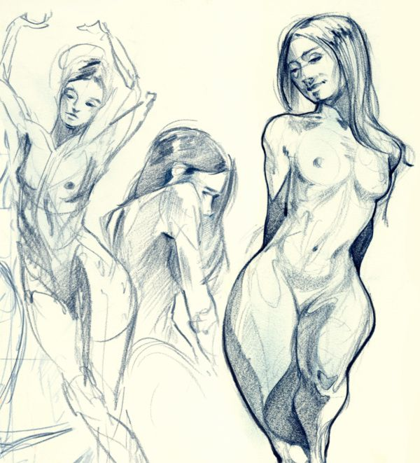 Art Classes That Pay For Your Naked Ambition