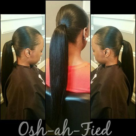 My clients love these invisible ponytails  Follow me on Instagram @osh_ahfied