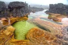 Естественные бассейны, гора Рорайма, Венесуэла - Google-Suche