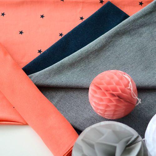 MINISTAR, Coral | NOSH Fabrics Spring & Summer 2016 Collection - Shop at en.nosh.fi | Kevään 2016 malliston kankaat saatavilla nyt nosh.fi