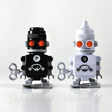 Salero y Pimentero Robot