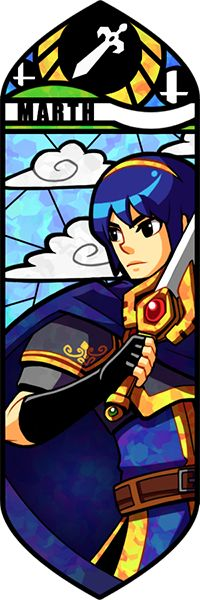 Smash Bros - Marth by Quas-quas.deviantart.com on @DeviantArt