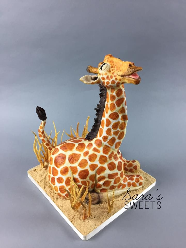 473 Best Images About Giraffe Cakes On Pinterest