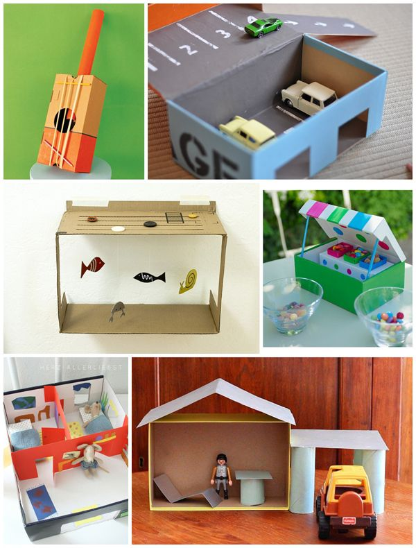 10 Inventive Shoebox Crafts