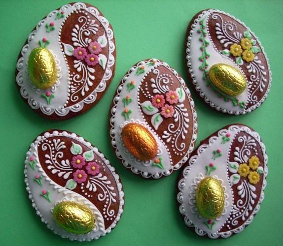 Beautiful Easter Easter Egg Cookies