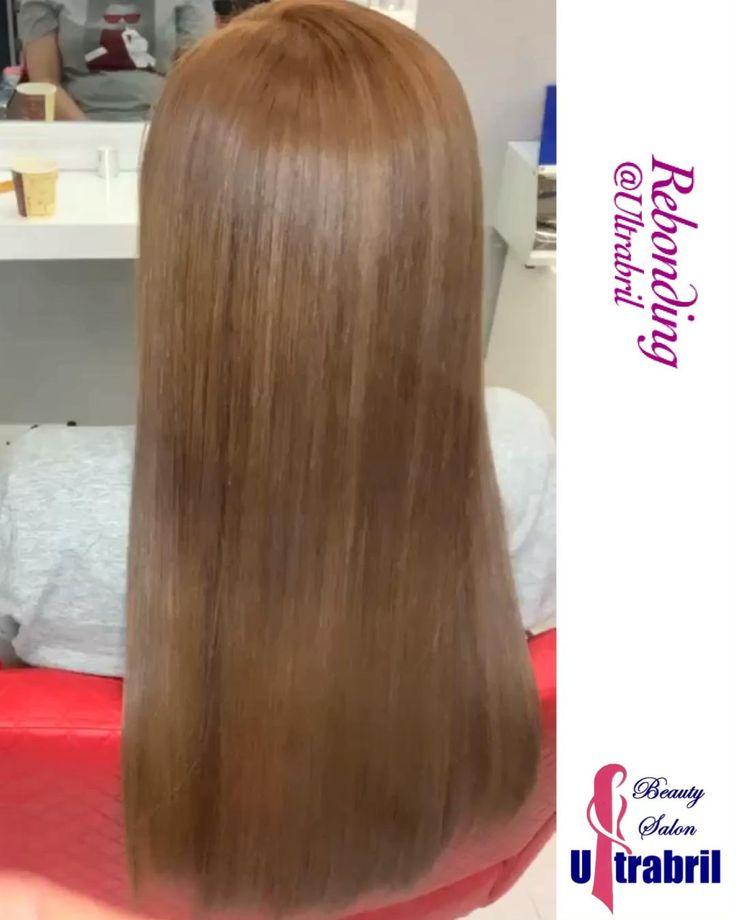 Rebonding Video in 2020   Hair color, Hair highlights, Light brown hair