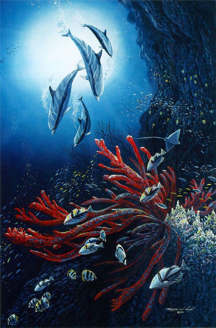 Подводный мир хранит седой Нептун, владения его необозримы.Robert Lyn Nelson. Обсуждение на LiveInternet - Российский Сервис Онлайн-Дневников
