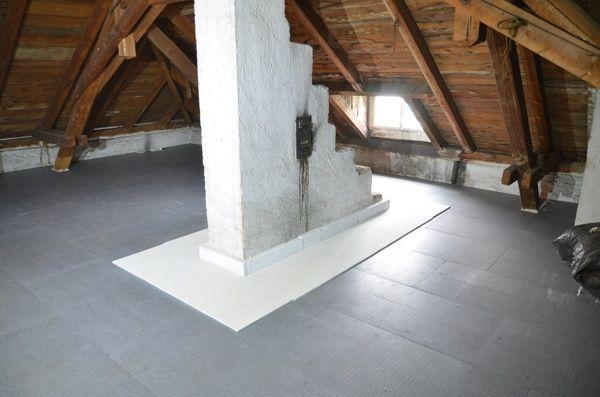 Atmungsaktiv Wie Fichtenholz Keine Folie Erforderlich Dachboden Dach Geschoss