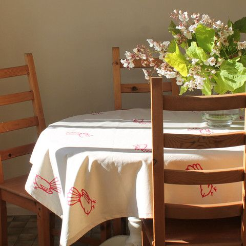 Tablecloth Fantail