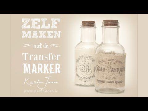 Transfermarker-workshop-dubbel pakket - Transfermarkers - ZELFMAAKshop