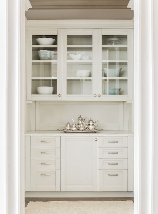 This could be butlers pantry or reg pantry between kitchen & hearth room...COTTAGE AND VINE: Monday Inspiration | Hardworking Butler's Pantries