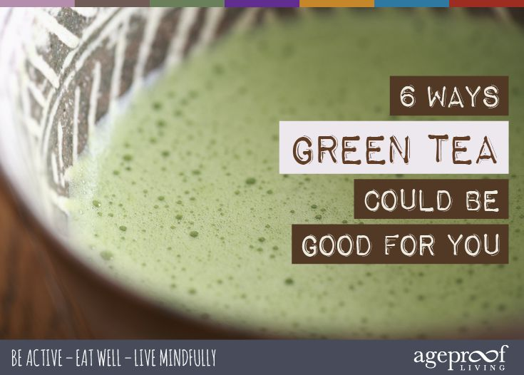 Going Green – 6 Ways Green Tea Could Be Good For You ... They say switching to green tea is good for your health. But how? And is it worth the trouble? We asked London tea experts, Newby Teas, to give us the lowdown on the possible benefits of giving green tea the green light ... http://ageproofliving.com/health-benefits-of-green-tea ... #greentea #holistic #health