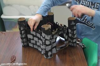 Art Room 104: 3rd Grade Castles & Science: Simple Machine Pulley Drawbridge