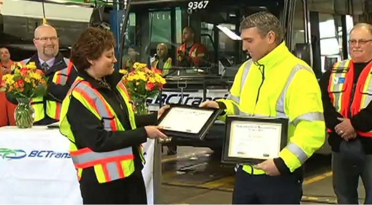 BC Transit is officially accredited - here is the COR presentation with our CEO & President.