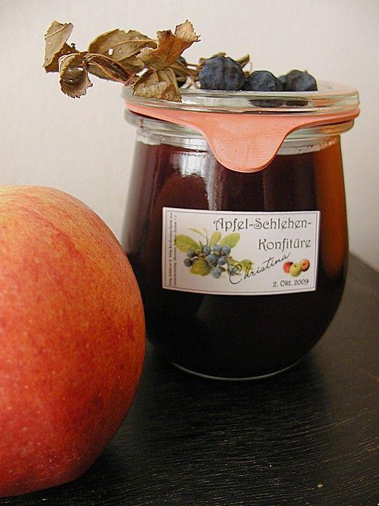 Schlehen - Apfel - Konfitüre, ein schönes Rezept aus der Kategorie Frühstück. Bewertungen: 5. Durchschnitt: Ø 3,9.