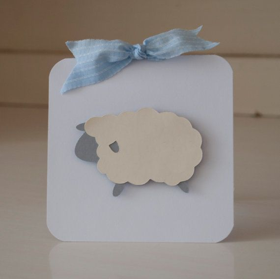 Baby Shower Lamb Sheep Invitations Thank You by CardinalBoutique, $74.00