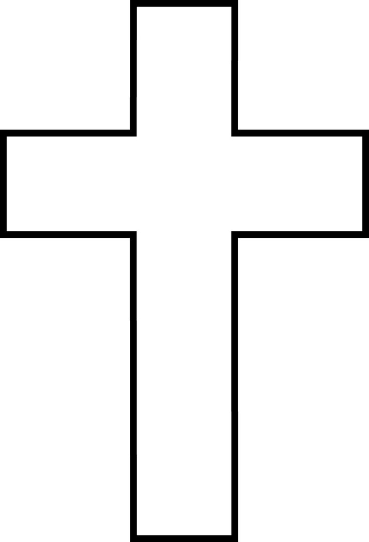 Cross Outline Tattoos Pinterest Clipart Images