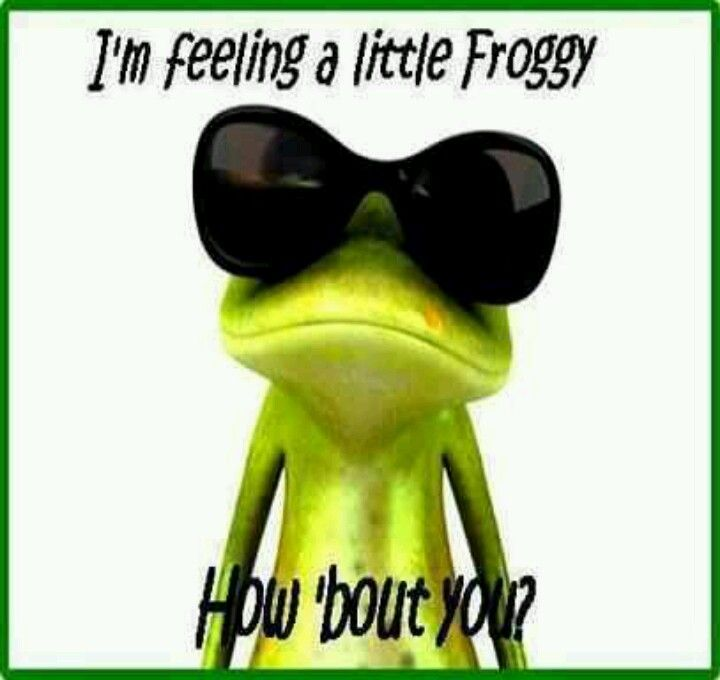 Funny frogs My favorite frog quotes Pinterest Frogs